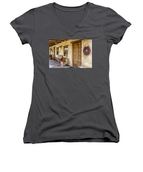 The Gage Hotel Women's V-Neck (Athletic Fit)
