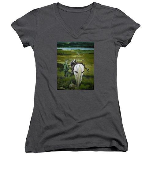 The Gamekeeper Women's V-Neck T-Shirt