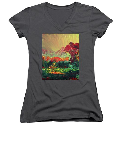 The Garden Women's V-Neck T-Shirt