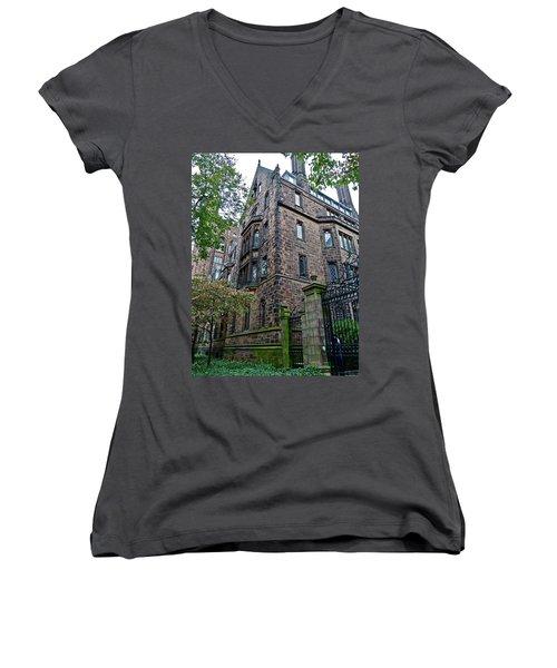 The Gates Of Yale Women's V-Neck