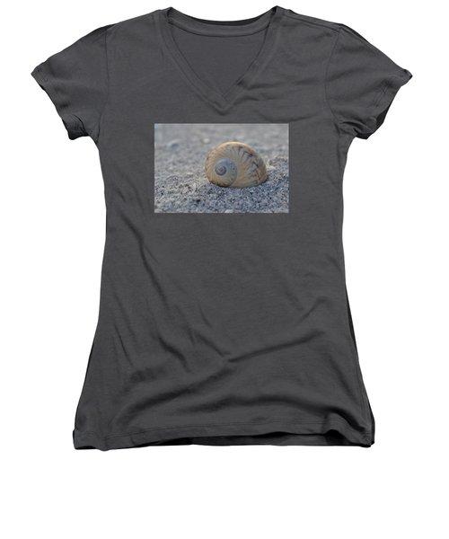 Women's V-Neck T-Shirt (Junior Cut) featuring the photograph The Gaudy Nautica by Melanie Moraga