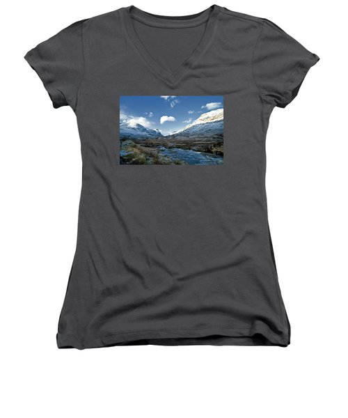 The Glen Of Weeping Women's V-Neck (Athletic Fit)