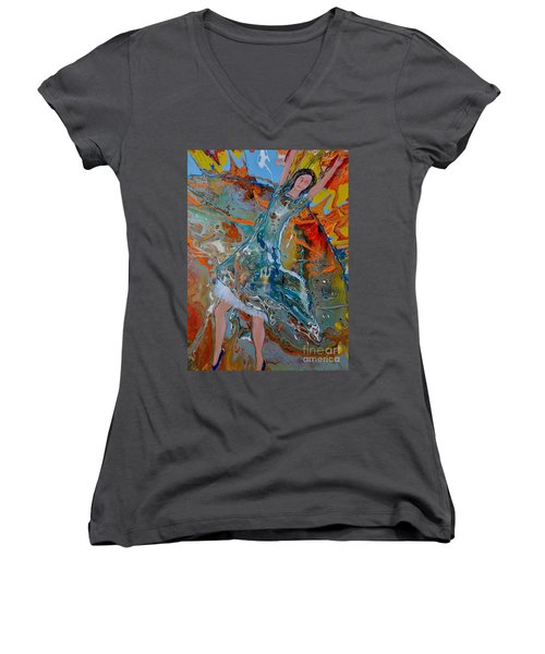 The Glory Of The Lord Women's V-Neck