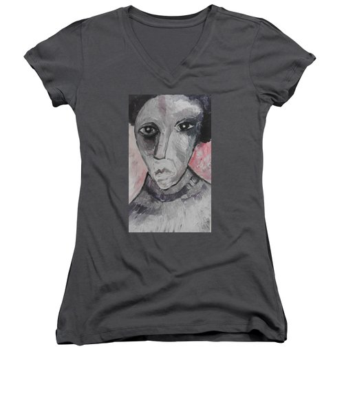 The Gothic Poet Women's V-Neck (Athletic Fit)