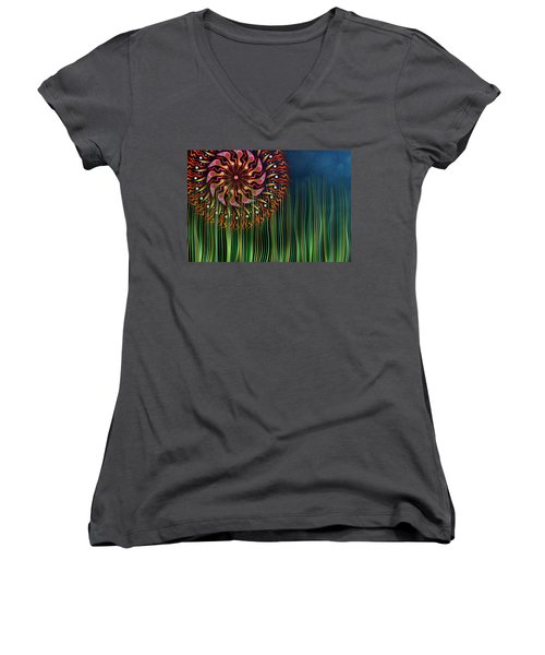 The Grass Is Always Greener Women's V-Neck (Athletic Fit)