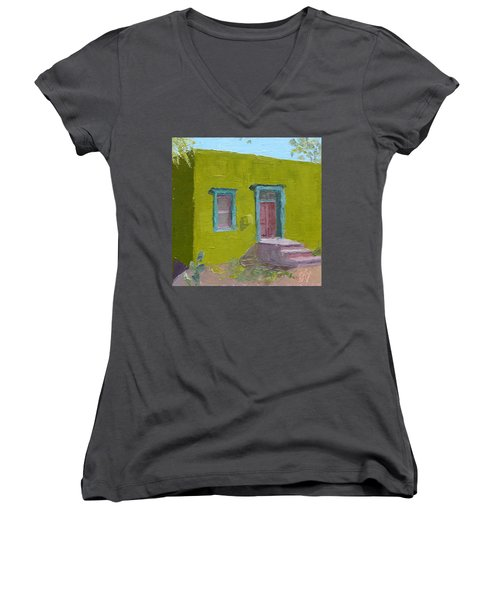 The Green House Women's V-Neck (Athletic Fit)