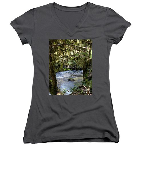 The Green Seen Women's V-Neck T-Shirt