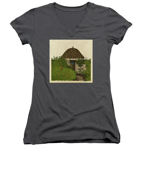 The Guard House Women's V-Neck T-Shirt