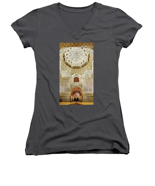 The Hall Of The Arabian Nights 2 Women's V-Neck