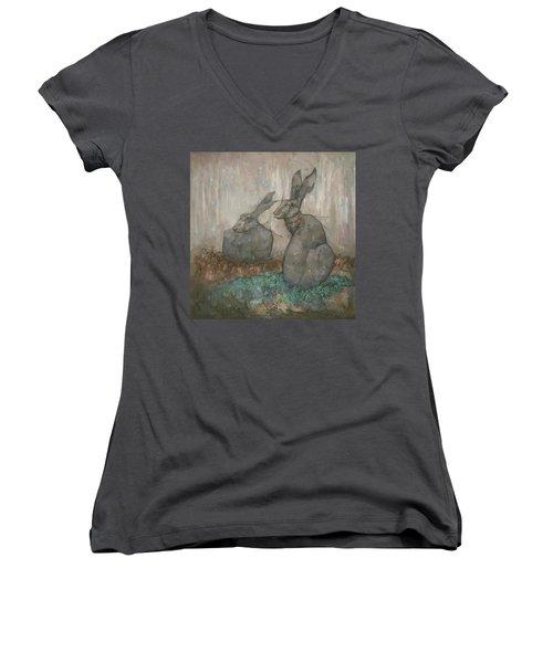 The Hare's Den Women's V-Neck