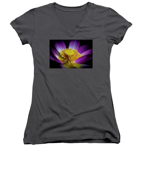 The Heart Of The Lily Women's V-Neck
