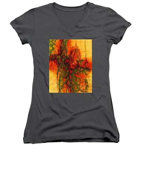 The Heart Of The Matter Women's V-Neck (Athletic Fit)