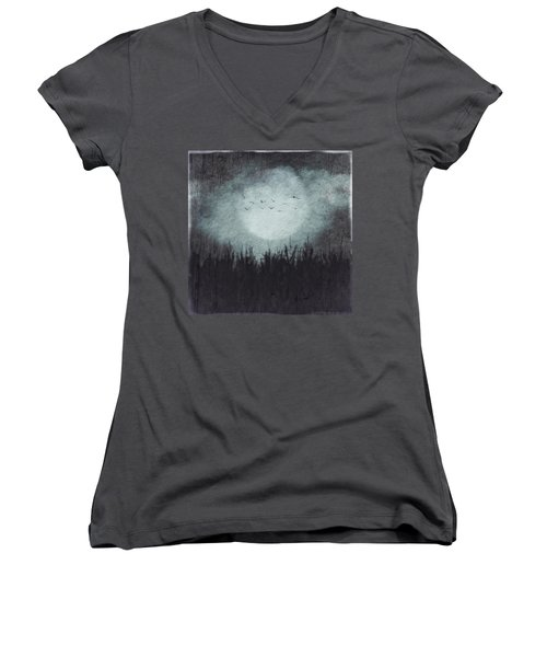 The Heavy Moon Women's V-Neck (Athletic Fit)