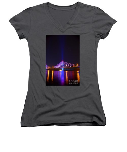 The Hidden Light Women's V-Neck T-Shirt