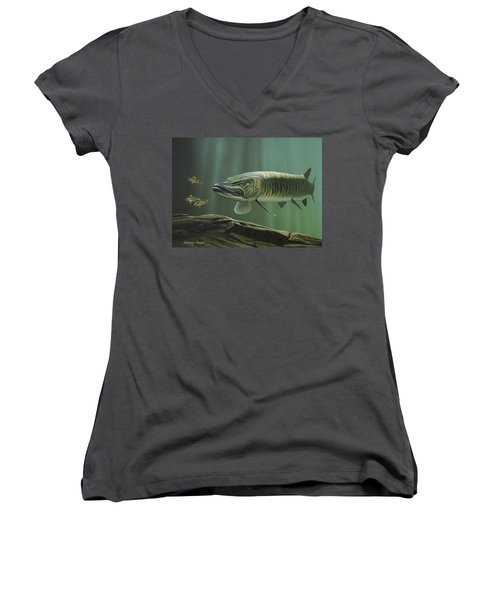 The Hunter - Musky Women's V-Neck