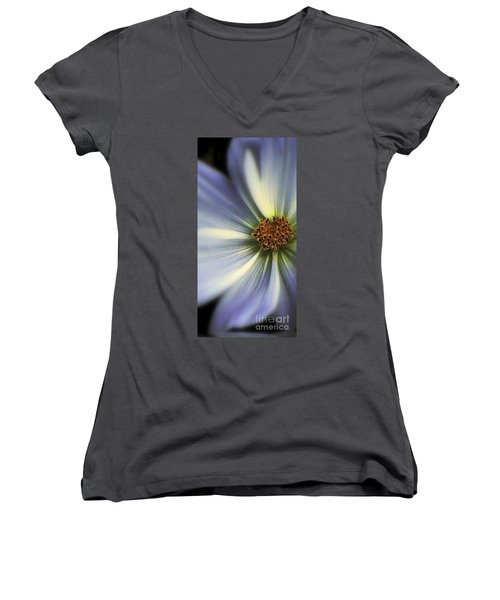 Women's V-Neck T-Shirt (Junior Cut) featuring the photograph The Jewel by Elfriede Fulda