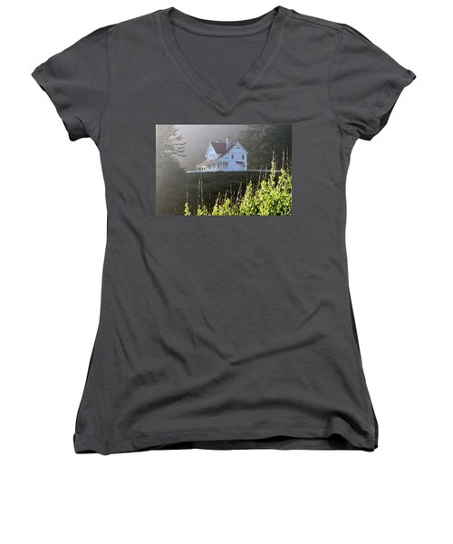The Keepers House 2 Women's V-Neck T-Shirt