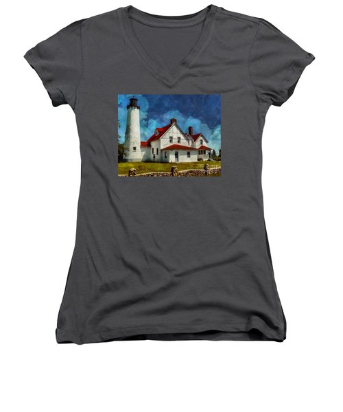 The Keeper's House 2015 Women's V-Neck (Athletic Fit)