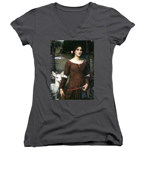The Lady Clare Women's V-Neck