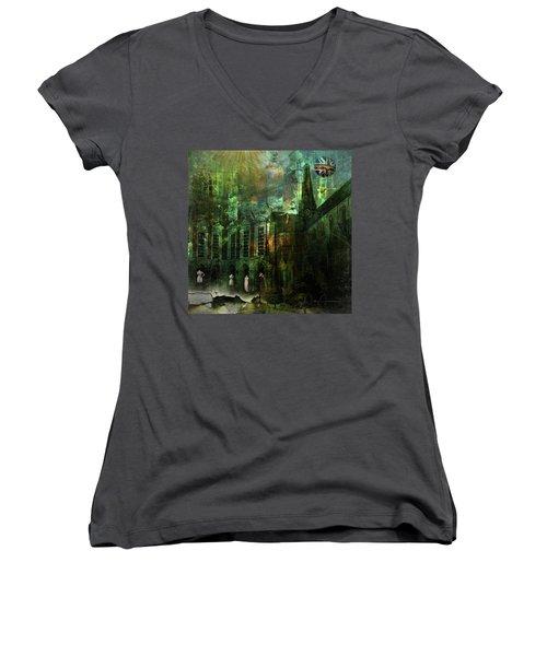 The Landing Women's V-Neck T-Shirt