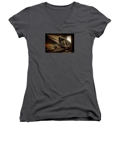 The Last Port Women's V-Neck T-Shirt