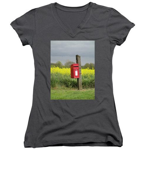 The Last Post Women's V-Neck (Athletic Fit)