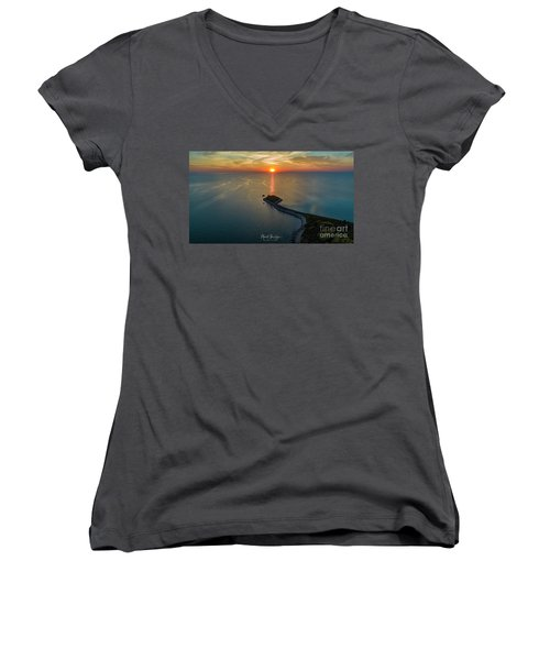 The Last Ray Women's V-Neck (Athletic Fit)