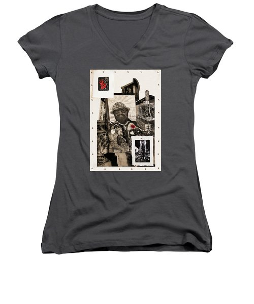 The Legend Of Riggo Maddix Women's V-Neck T-Shirt