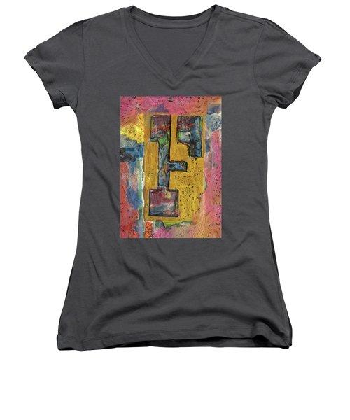 The Letter F Women's V-Neck T-Shirt