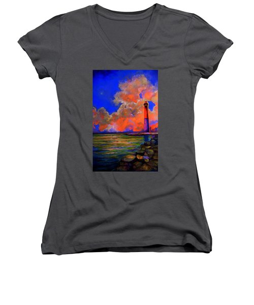 The Light Women's V-Neck T-Shirt