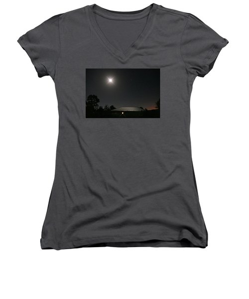 The Light Has Come Women's V-Neck (Athletic Fit)