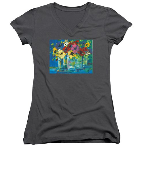 The Line-up Women's V-Neck (Athletic Fit)