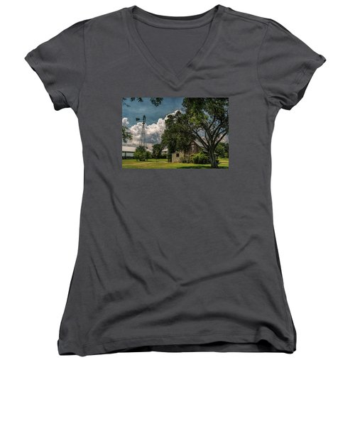 The Little Winery In Stonewall Women's V-Neck