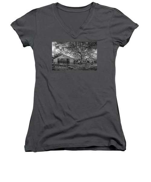 The Livery Stable And Oak Women's V-Neck