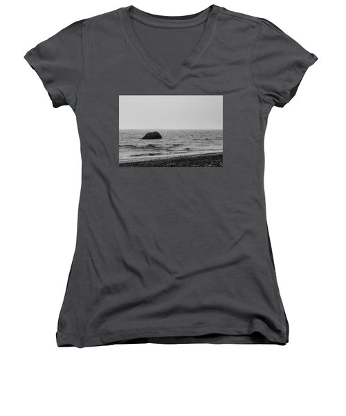 The Lone Rock Women's V-Neck (Athletic Fit)