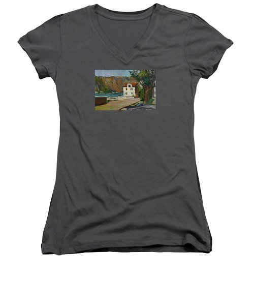 The Long Hot Day. Sold Women's V-Neck T-Shirt