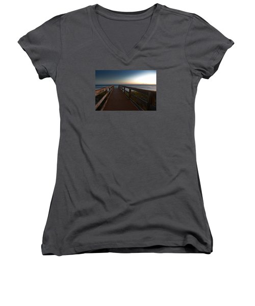 The Long Walk Home Women's V-Neck (Athletic Fit)