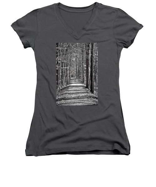 The Long Walk Women's V-Neck (Athletic Fit)