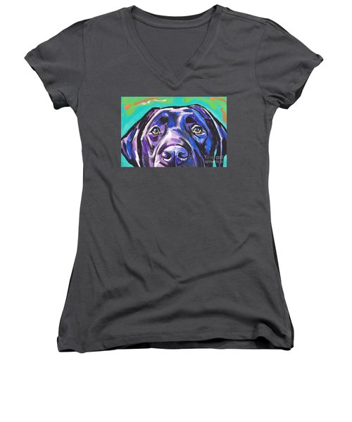The Look Of Lab Women's V-Neck T-Shirt