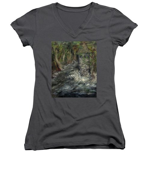 The Mage's Tower Women's V-Neck