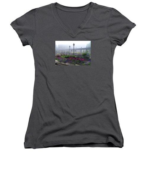 The Magic Garden Women's V-Neck T-Shirt
