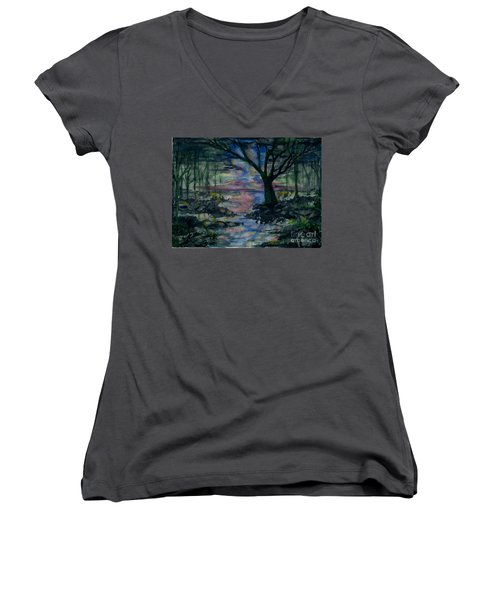 The Magic Hour Women's V-Neck (Athletic Fit)