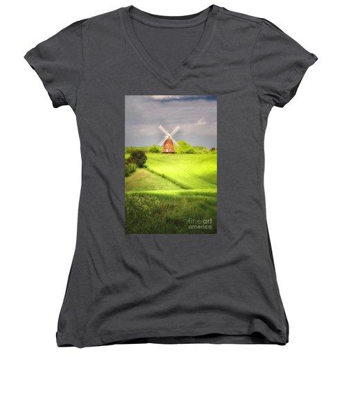The Mill Uphill Women's V-Neck T-Shirt