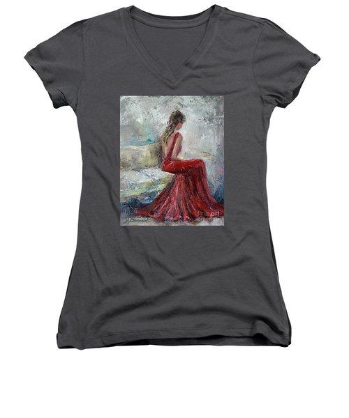 The Moment Women's V-Neck T-Shirt