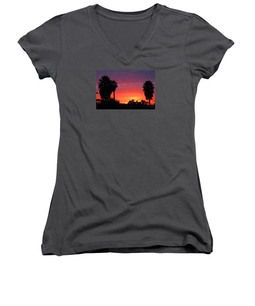 The Moody Views Women's V-Neck (Athletic Fit)