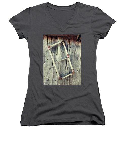 The New Windows 11 Women's V-Neck T-Shirt