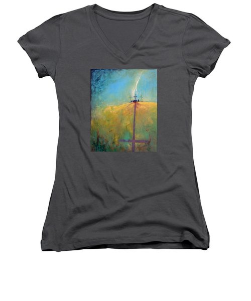 The Ninth Hour Women's V-Neck (Athletic Fit)