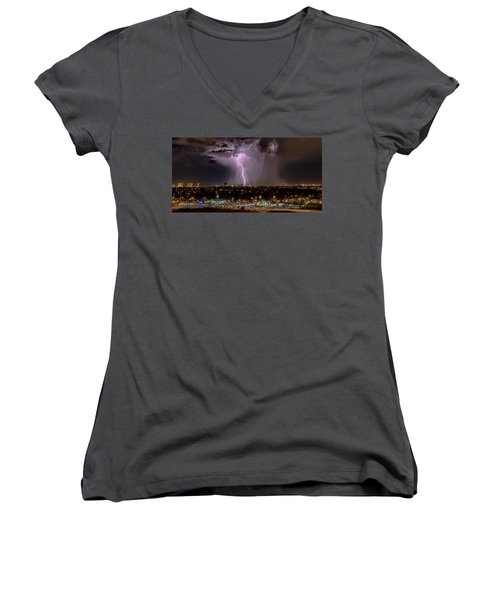 The North American Monsoon Women's V-Neck (Athletic Fit)
