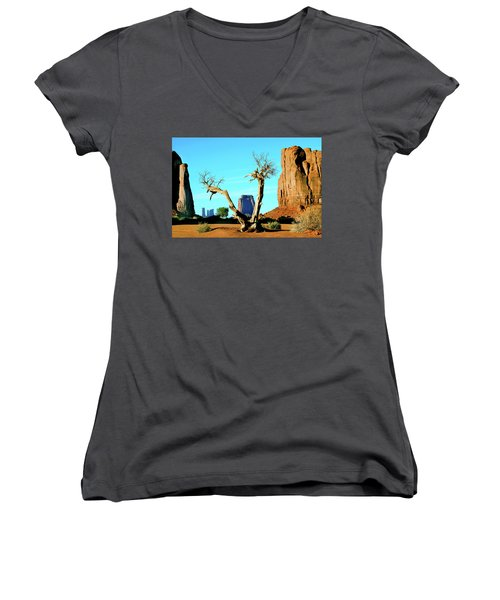 The North Window Women's V-Neck (Athletic Fit)