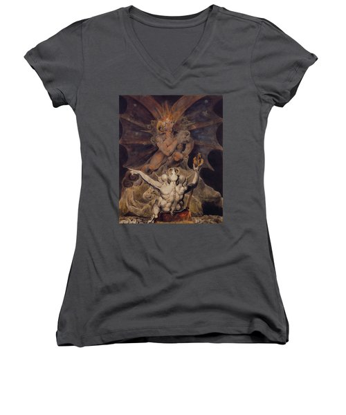 The Number Of The Beast Is 666 Women's V-Neck (Athletic Fit)